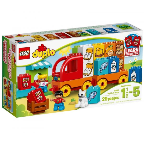 LEGO Duplo 10818 Мой первый грузовик