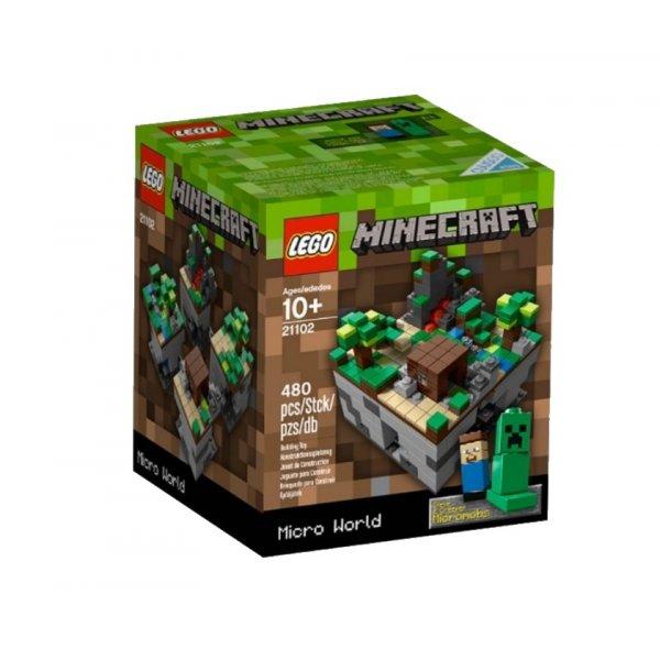 LEGO Minecraft 21102 Майнкрафт микро мир: Лес