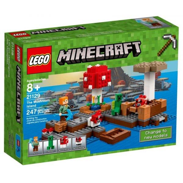 Набор Лего Грибной остров