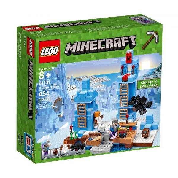 LEGO Minecraft 21131 Ледяные шипы
