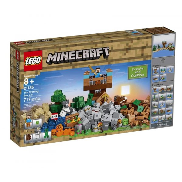 LEGO Minecraft 21135 Набор для творчества 2.0