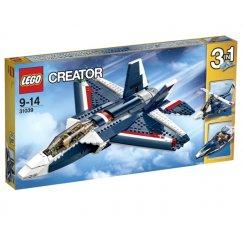 LEGO Creator 31039 Синий реактивный самолёт