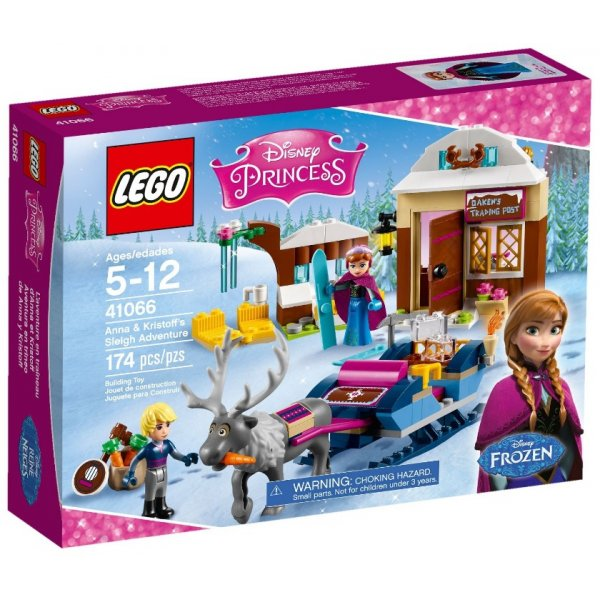 Набор Лего Анна и Кристоф: прогулка на санях