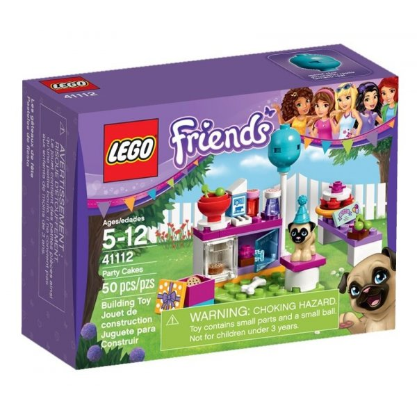 41112 LEGO Friends 41112 Вечеринка с тортами
