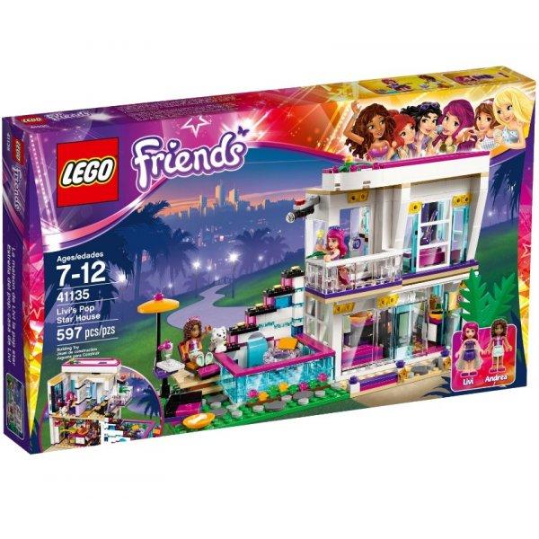 LEGO Friends 41135 Дом поп-звезды Ливи