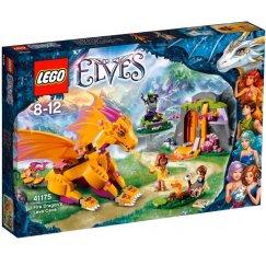 LEGO Elves 41175 Пещера с лавой дракона Огня