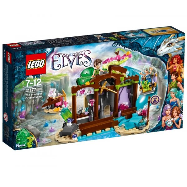 Набор Лего Кристальная шахта