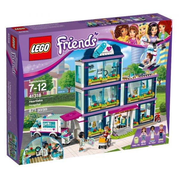 LEGO Friends 41318 Клиника Хартлейк Сити