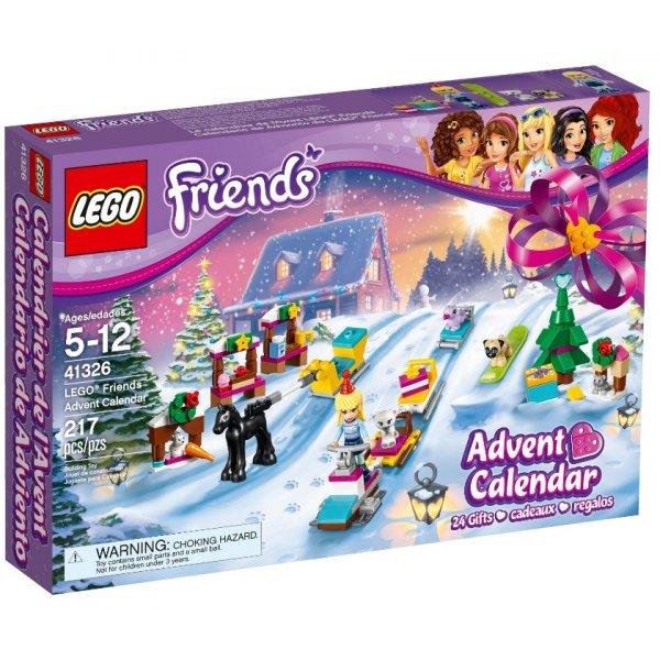 Новогодний календарь Friends