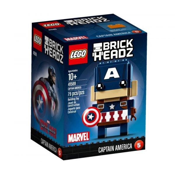 LEGO BrickHeadz 41589 Капитан Америка