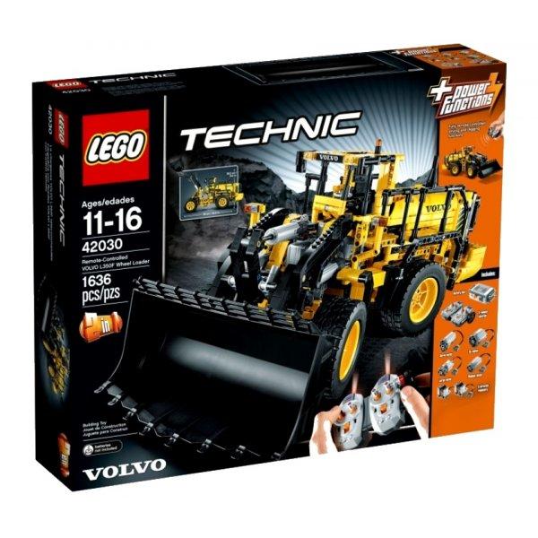 LEGO Technic 42030 Автопогрузчик Volvo L350F с дистанционным управлением
