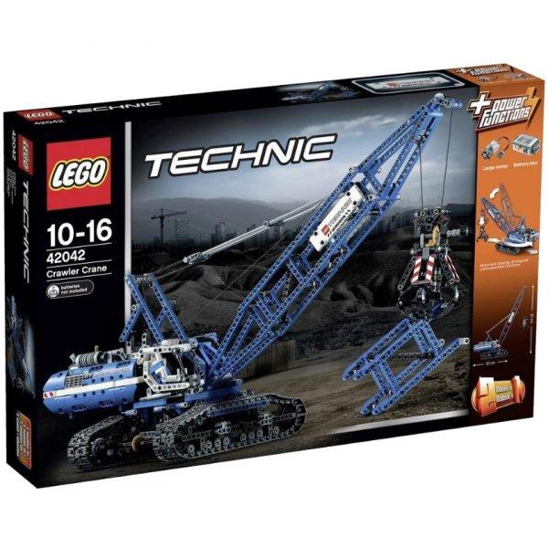 Набор Лего Гусеничный кран