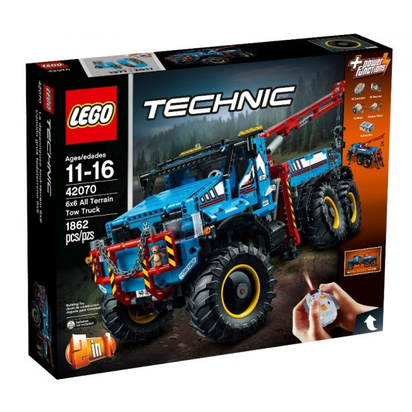 Набор Лего Аварийный внедорожник 6х6