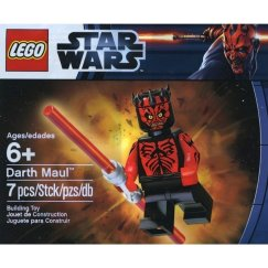 Darth Maul - Printed Red Arms
