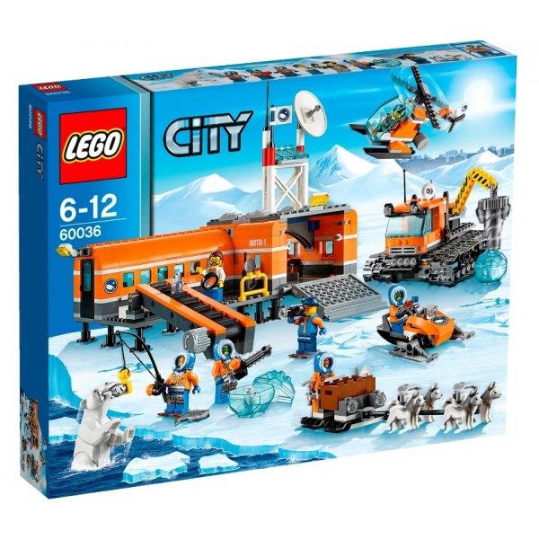 LEGO City 60036 Арктическая база