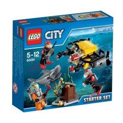 LEGO City 60091 Набор для начинающих: Исследование морских глубин