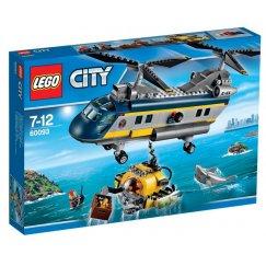 Вертолёт исследователей моря