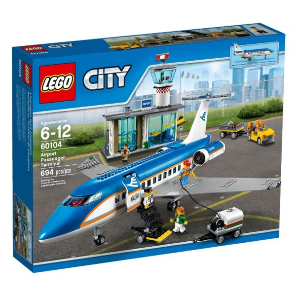 LEGO City 60104 Пассажирский терминал аэропорта