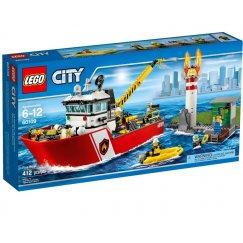 Набор лего - Пожарный катер