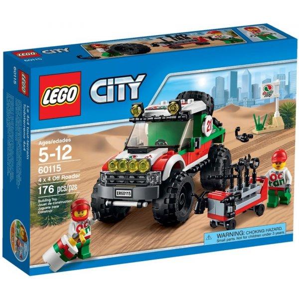 LEGO City 60115 Внедорожник 4х4