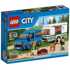 Набор лего - Фургон и дом на колёсах