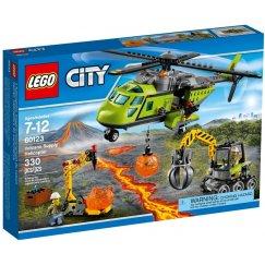 Набор лего - Грузовой вертолёт исследователей вулканов