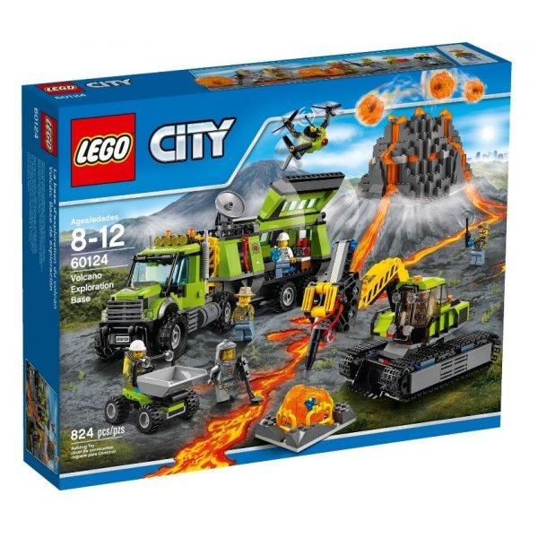 Набор Лего База исследователей вулканов