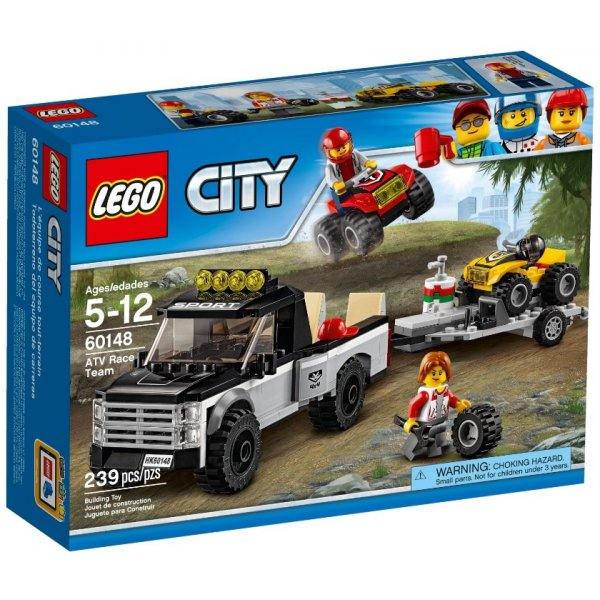 LEGO City 60148 Гоночная команда