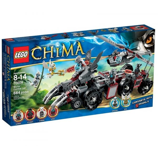 LEGO Legends of Chima 70009 Бронетранспортёр Волка Воррица