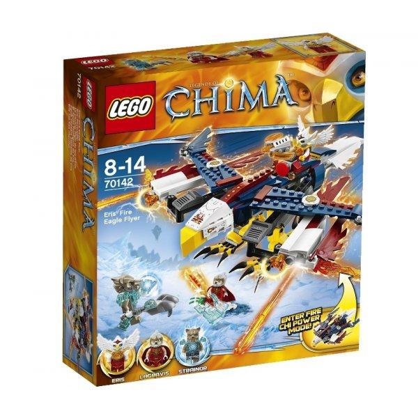 LEGO Legends of Chima 70142 Огненный истребитель Орлицы Эрис