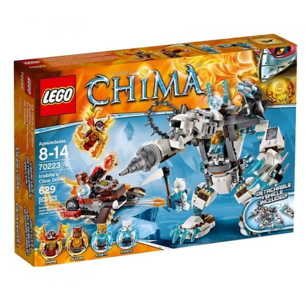 LEGO Legends of Chima 70223 Ледяной бур Айсбайта