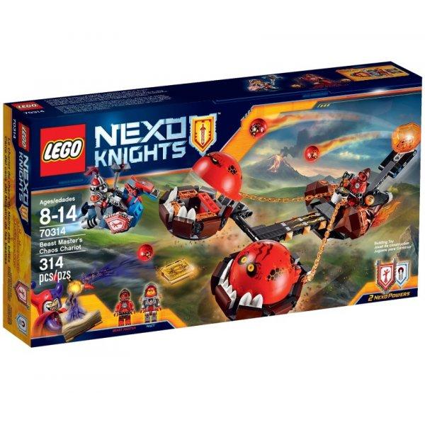 LEGO Nexo Knights 70314 Безумная колесница Укротителя