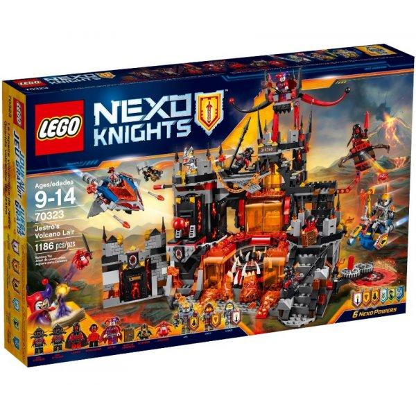 LEGO Nexo Knights 70323 Логово Джестро