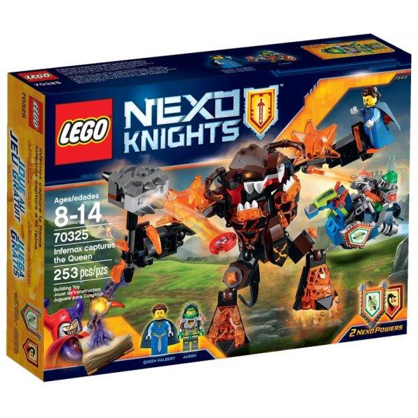 LEGO Nexo Knights 70325 Инфернокс и захват королевы