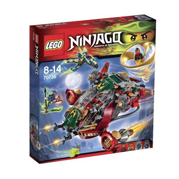 LEGO Ninjago 70735 Корабль R.E.X. Ронана