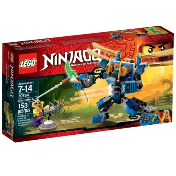 LEGO Ninjago 70754 Летающий робот Джея