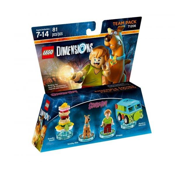 Набор Лего Team Pack: Скуби Ду
