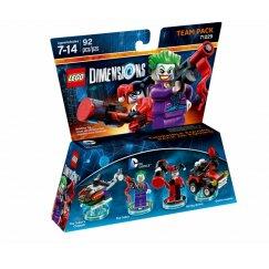 Набор лего - Team Pack: Джокер и Харли Куин