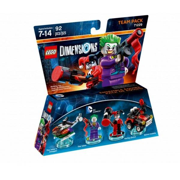 LEGO Dimensions 71229 Джокер и Харли Куинн