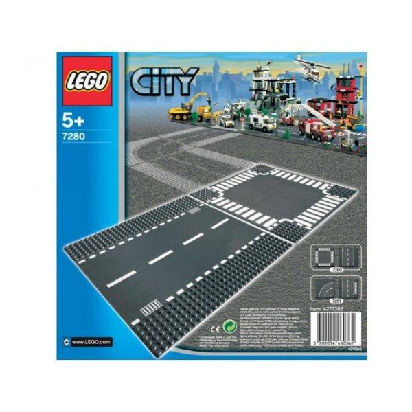 LEGO City 7280 Дорога и перекресток