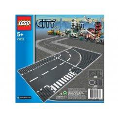 LEGO City 7281 Т-образный перекресток и поворот