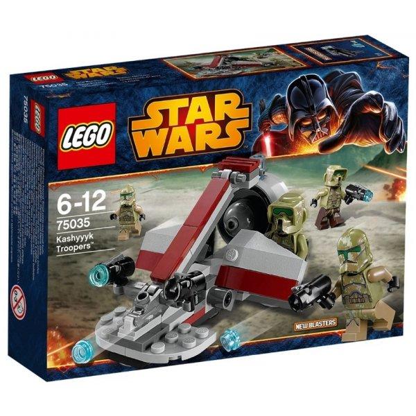 LEGO Star Wars 75035 Воины Кашиик