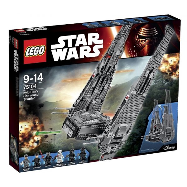 LEGO Star Wars 75104 Командный шаттл Кайло Рена™