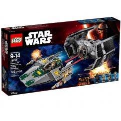 Набор лего - Истребитель TIE Дарта Вейдера против A-Wing