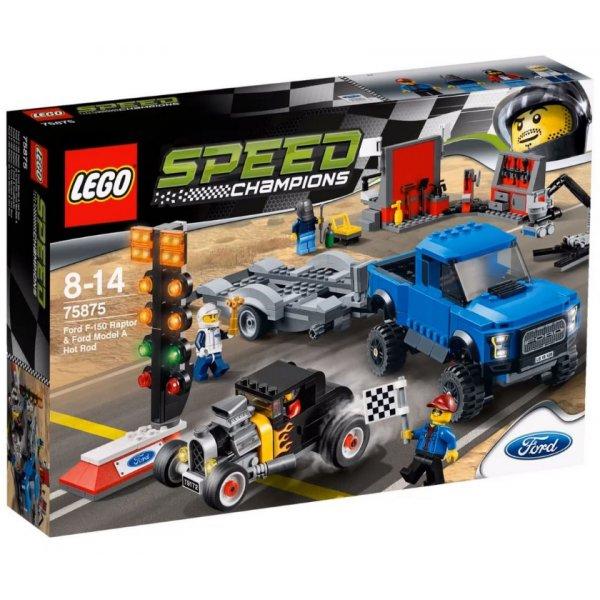 Набор Лего Форд F-150 Raptor и Форд Model A Hot Rod