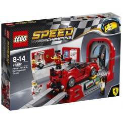 LEGO Speed Champions 75882 Ferrari FXX K и Центр разработки и проектирования