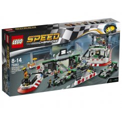 LEGO Speed Champions 75883 Команда Mercedes AMG Petronas