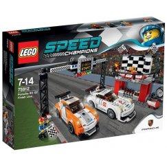 LEGO Speed Champions 75912 Финишная линия гонки Porsche 911 GT