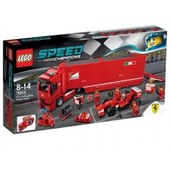 LEGO Speed Champions 75913 Феррари F14 и грузовик Скудериа Феррари