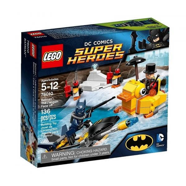 LEGO DC Super Heroes 76010 Бэтмен: Пингвин дает отпор